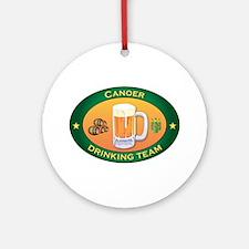 Canoer Team Ornament (Round)