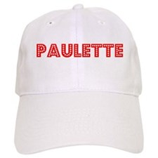 Retro Paulette (Red) Baseball Cap