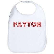 Retro Payton (Red) Bib