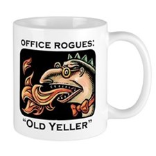 Office Rogues: Old Yeller Mug