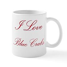 I Love Blue Crabs Mug