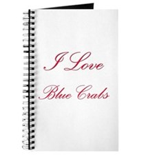 I Love Blue Crabs Journal