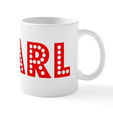 Retro Pearl (Red) Mug