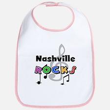 Nashville Rocks Bib