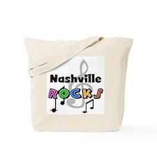 Nashville Rocks Tote Bag