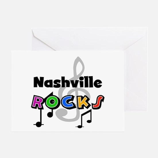 Nashville Rocks Greeting Card