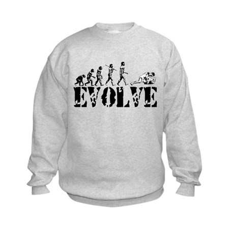 Wrestling Wrestler Kids Sweatshirt