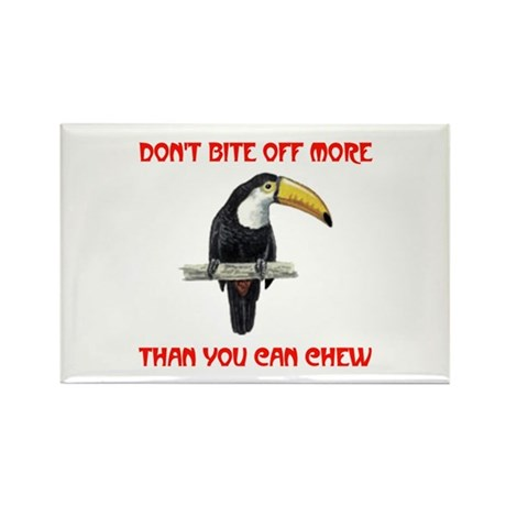 WATCH YOUR BITE Rectangle Magnet (10 pack)