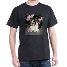 Happy Blue Merle Sheltie T-Shirt