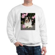 Happy Blue Merle Sheltie Sweatshirt