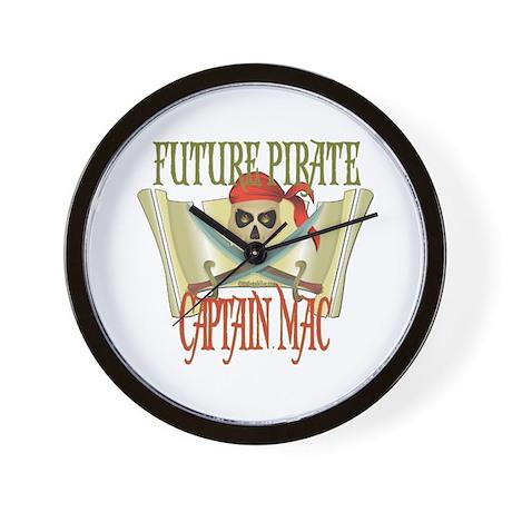 Captain Mac Wall Clock