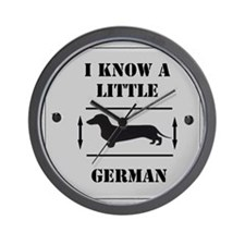 Nice Dachshund Wall Clock