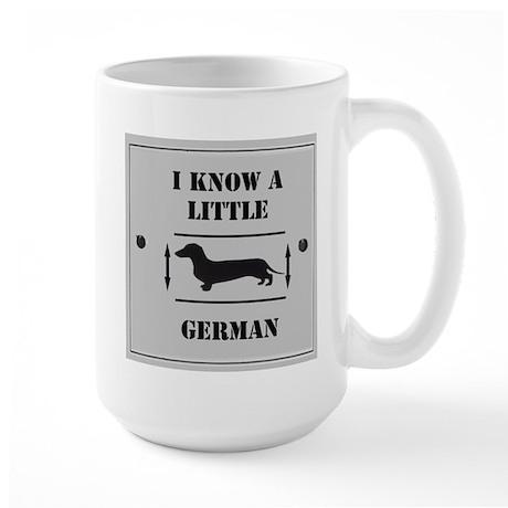 Nice Dachshund Large Mug