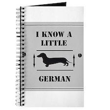 Nice Dachshund Journal