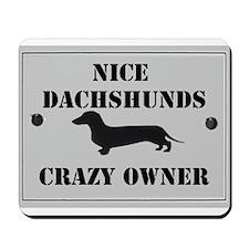 Nice Dachshunds Mousepad