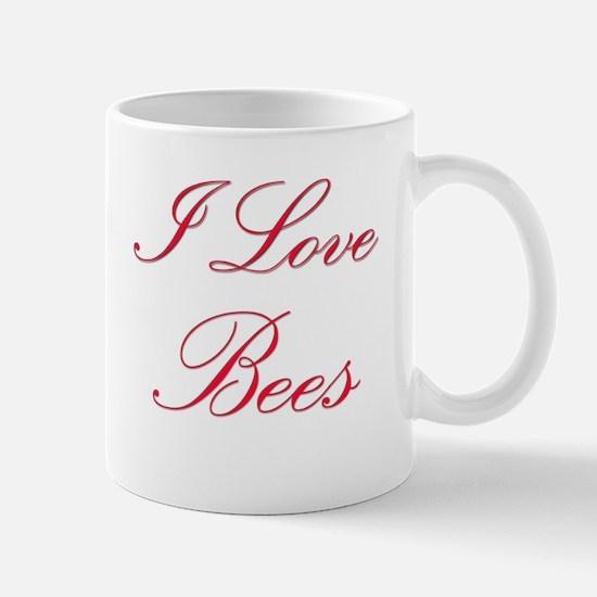 I Love Bees Mug