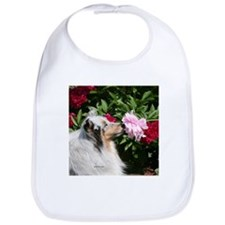 Sheltie Flower Bib