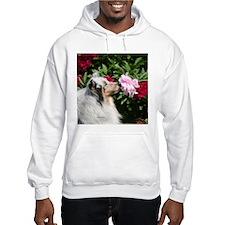 Sheltie Flower Hoodie