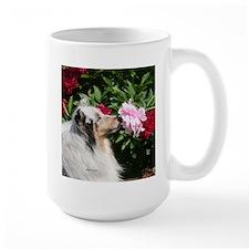 Sheltie Flower Mug