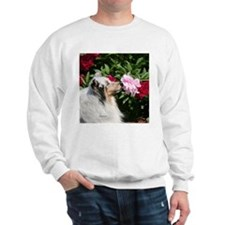 Sheltie Flower Sweatshirt