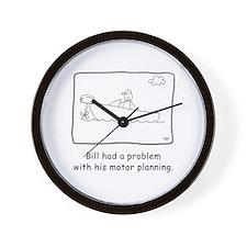 Motor Planning Wall Clock
