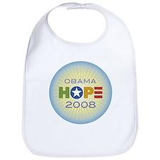 Obama Hope Circle Bib