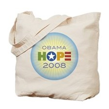 Obama Hope Circle Tote Bag