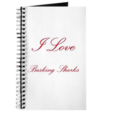 I Love Basking Sharks Journal