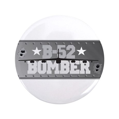 "B-52 Bomber Aviation 3.5"" Button (100 pack)"
