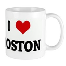 I Love BOSTON Mug