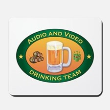 Audio and Video Team Mousepad