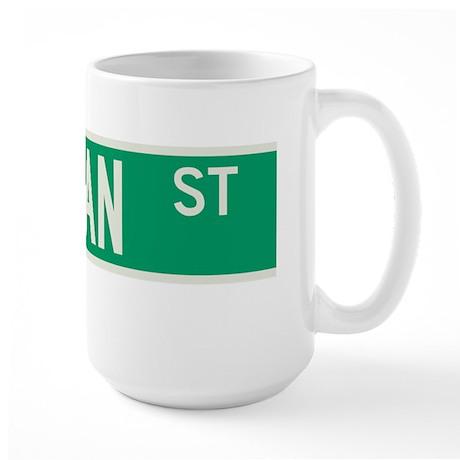 Dyckman Street in NY Large Mug