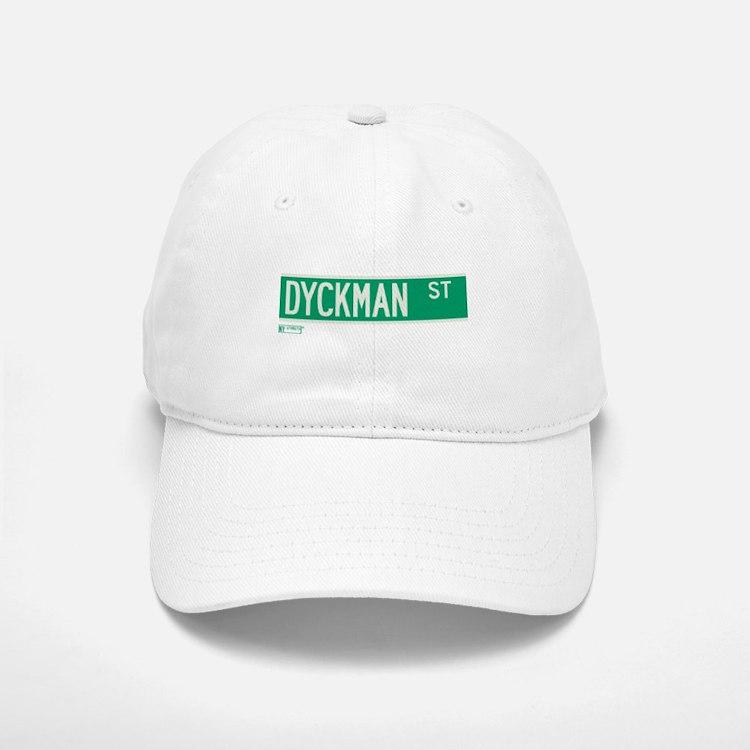 Dyckman Street in NY Baseball Baseball Cap