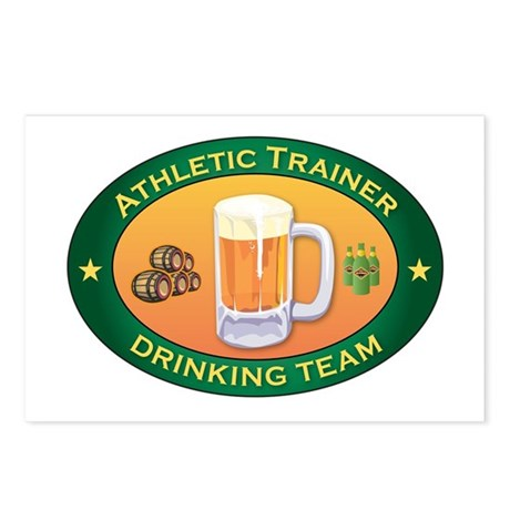 Athletic Trainer Team Postcards (Package of 8)
