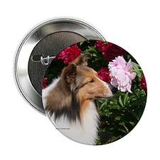 "Sable Flower 2.25"" Button"