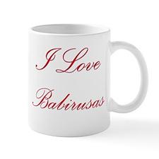 I Love Babirusas Mug