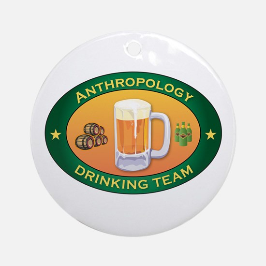 Anthropology Team Ornament (Round)