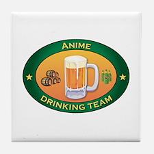 Anime Team Tile Coaster