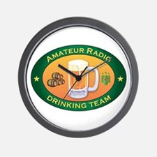 Amateur Radio Team Wall Clock