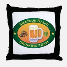 Amateur Radio Team Throw Pillow