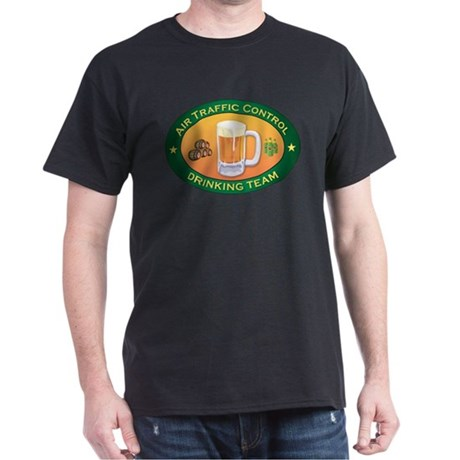 Air Traffic Control Team Dark T-Shirt