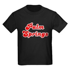 Retro Palm Springs (Red) T