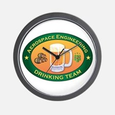 Aerospace Engineering Team Wall Clock