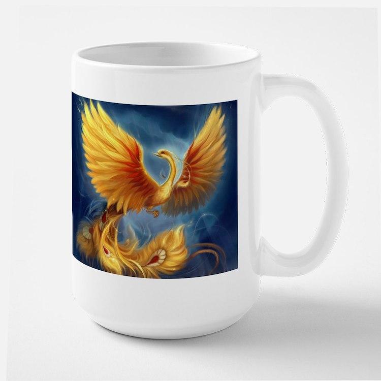 Female Phoenix Mugs