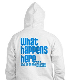 Party Cove-What Happens Here... Hoodie