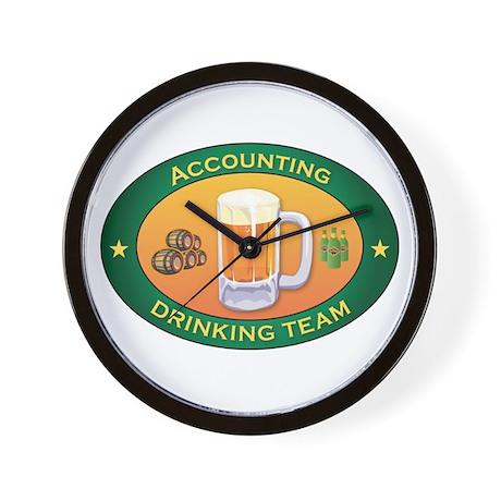 Accounting Team Wall Clock