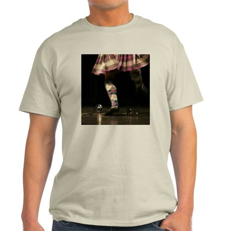 Highland Sword Dancer Ash Grey T-Shirt