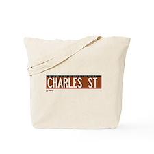 Charles Street in NY Tote Bag