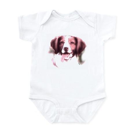 brittany portrait Infant Bodysuit