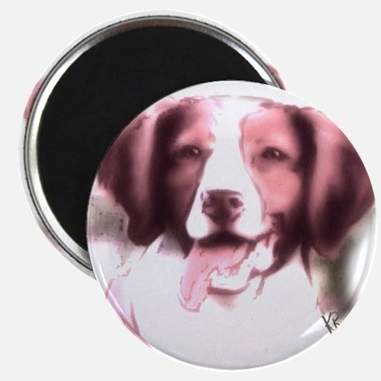 brittany portrait Magnet